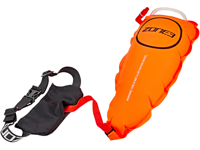 Zone3 Swim Safety with Tow Float Pouch oranje
